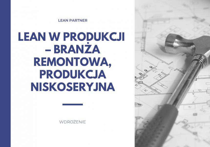 lean w produkcji